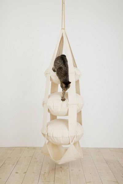 The Cat`s Trapeze - 3 Kissen