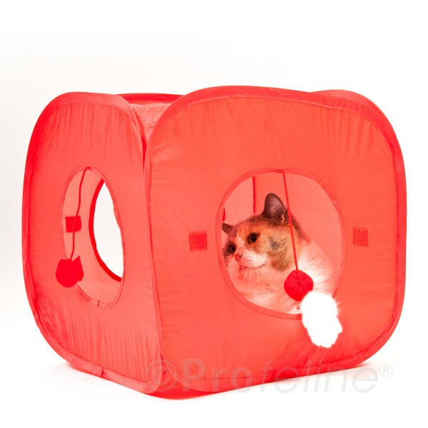 Cat Fun Tent! - Pop open Katzenwürfel