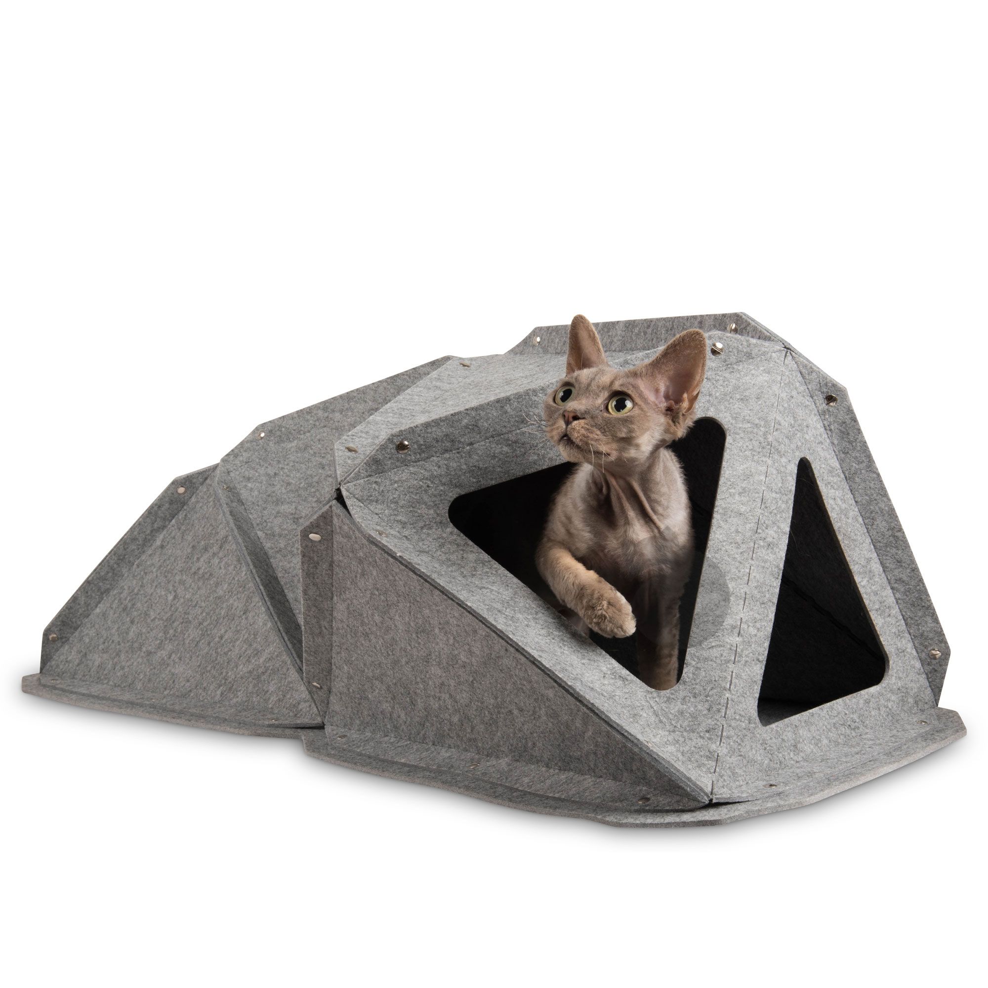 miut modulare katzenm bel aus filz zur wandmontage. Black Bedroom Furniture Sets. Home Design Ideas