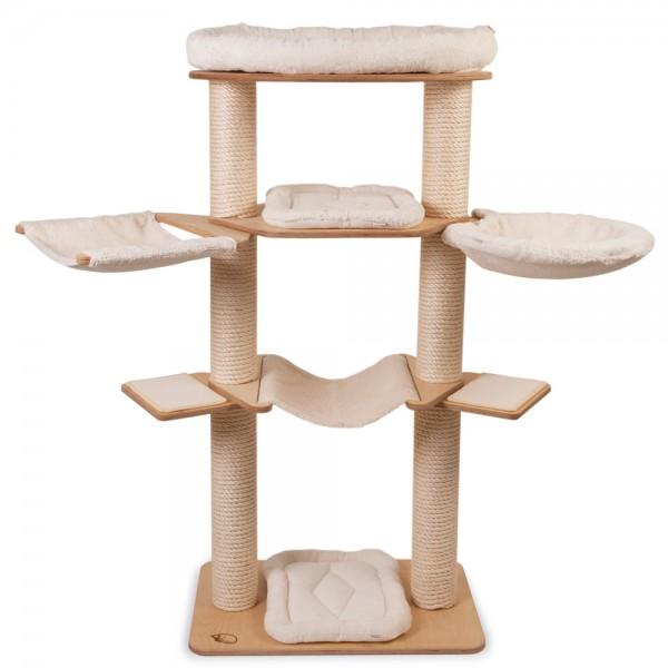 kratzbaum modell mathilda 2 stamm kratzbaum kratzb ume. Black Bedroom Furniture Sets. Home Design Ideas