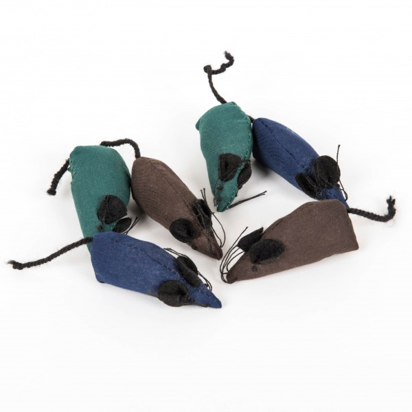 Catnip Baumwoll Mäuse