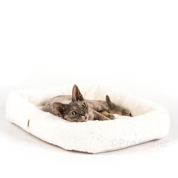 Katzenbett eckig Klettboden