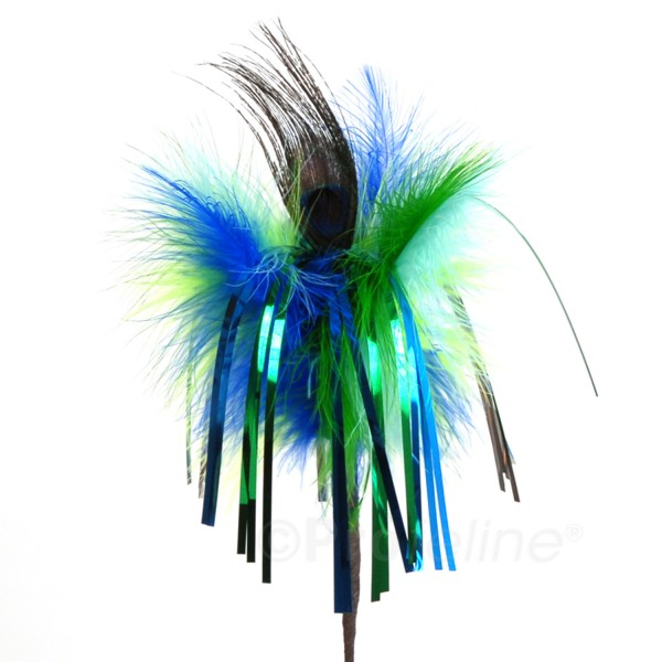 Go Cat - Federwedel Peacock Sparkler