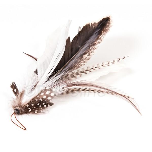 Profeline turkey feather anh nger profeline cat toy for Jackson galaxy da bird
