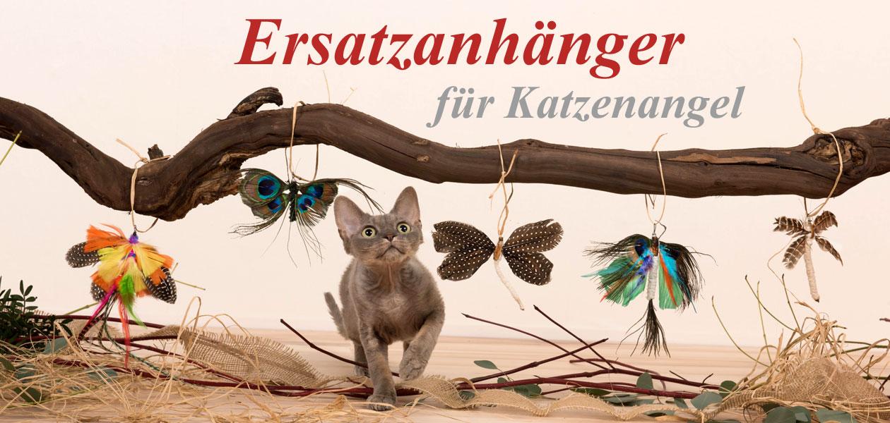 Ersatzanhänger für Katzenangeln