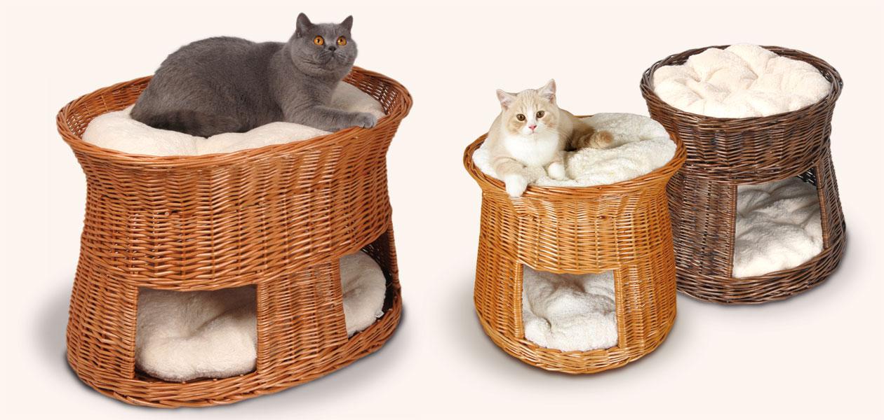 Katzenkörbe & Katzentürme