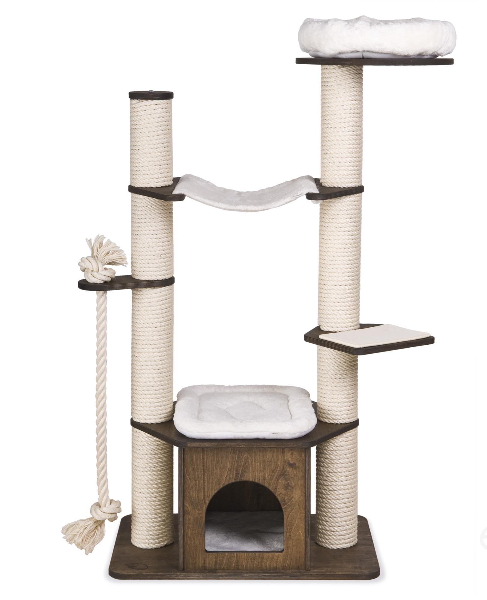 kratzbaum modell sarah 2 stamm kratzbaum kratzb ume. Black Bedroom Furniture Sets. Home Design Ideas