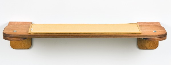 Holzfarbe: Kirsche  Bezug Sonnengelb