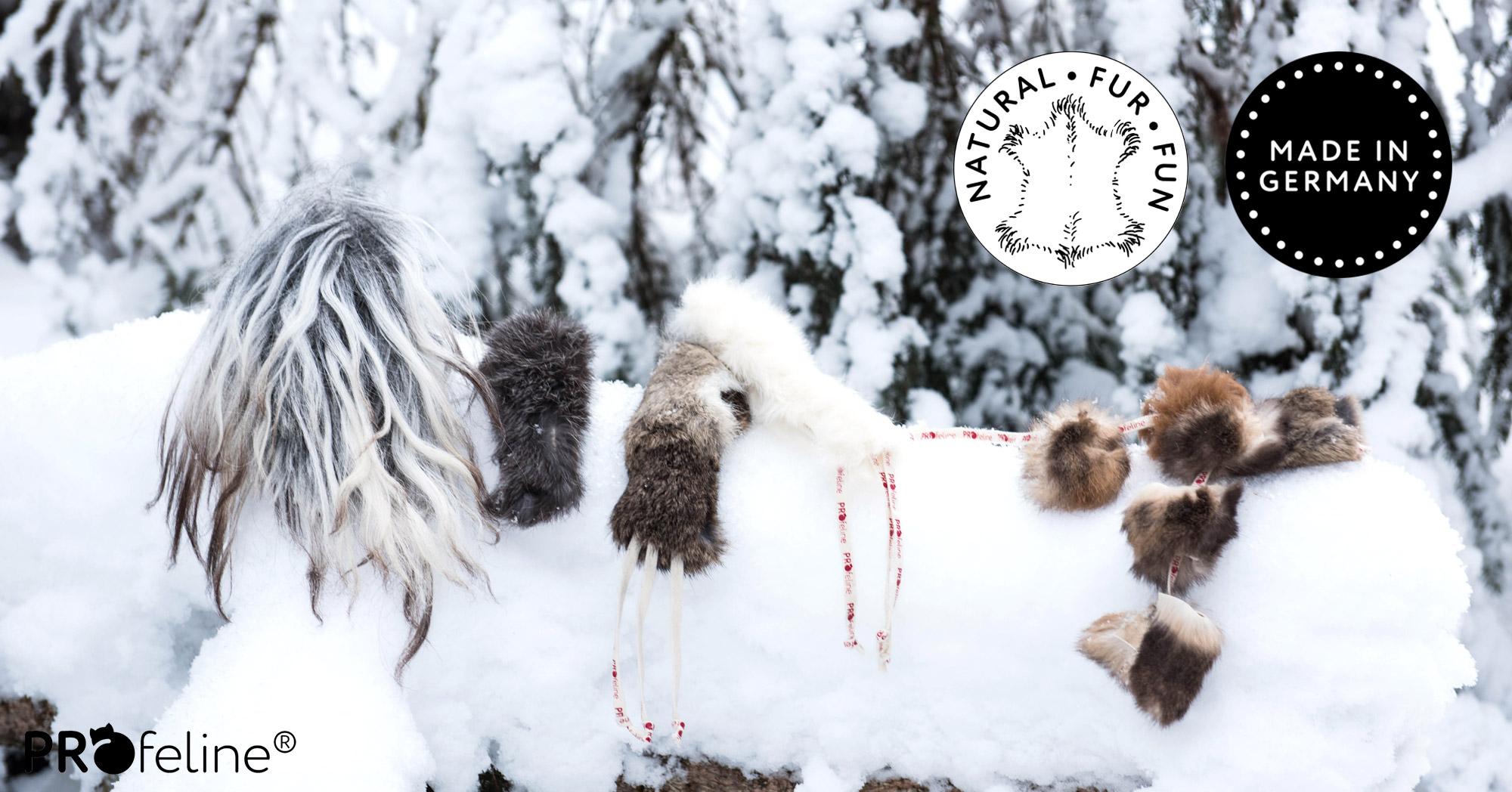Natural Fur Fun - Katzenspielzeug aus echtem Fell - Made in Germany