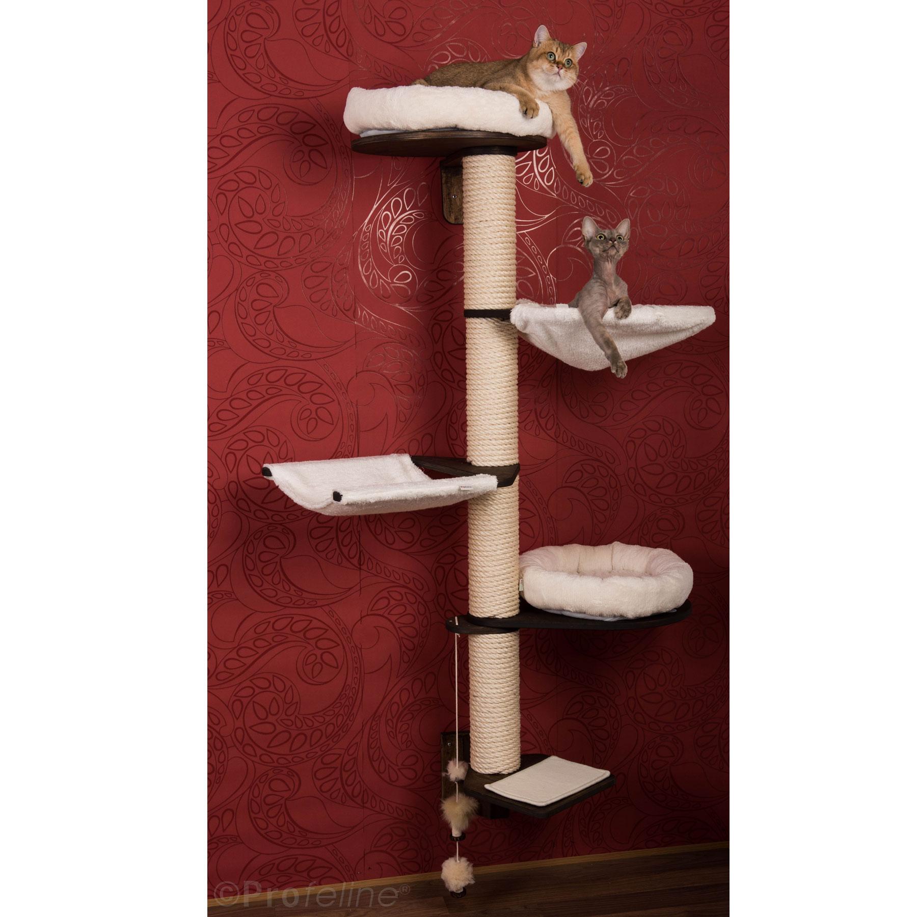 kratzbaum modell thore zur wandmontage design in. Black Bedroom Furniture Sets. Home Design Ideas
