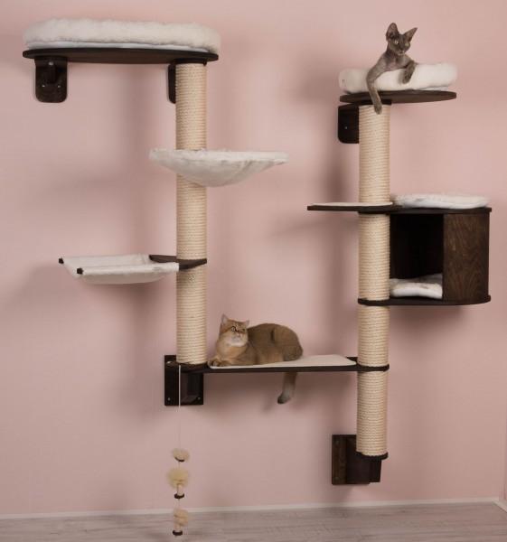 katzen kletterbaum modell gesa zur wandmontage profeline. Black Bedroom Furniture Sets. Home Design Ideas