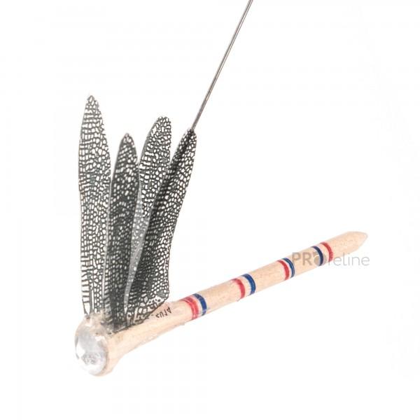 Dragonfly - Katzenangel Libelle Wooden