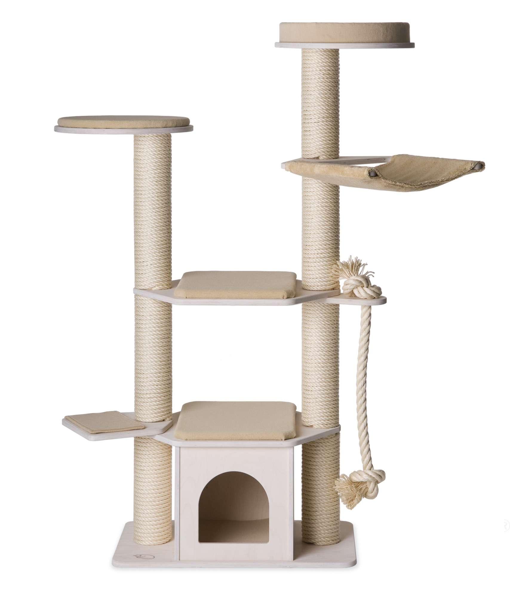 kratzbaum modell lisa | 2-stamm kratzbaum | kratzbÄume | profeline
