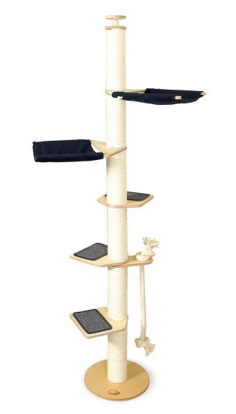 deckenspanner kratzbaum aus vollholz schmal und stabil profeline katzenshop. Black Bedroom Furniture Sets. Home Design Ideas