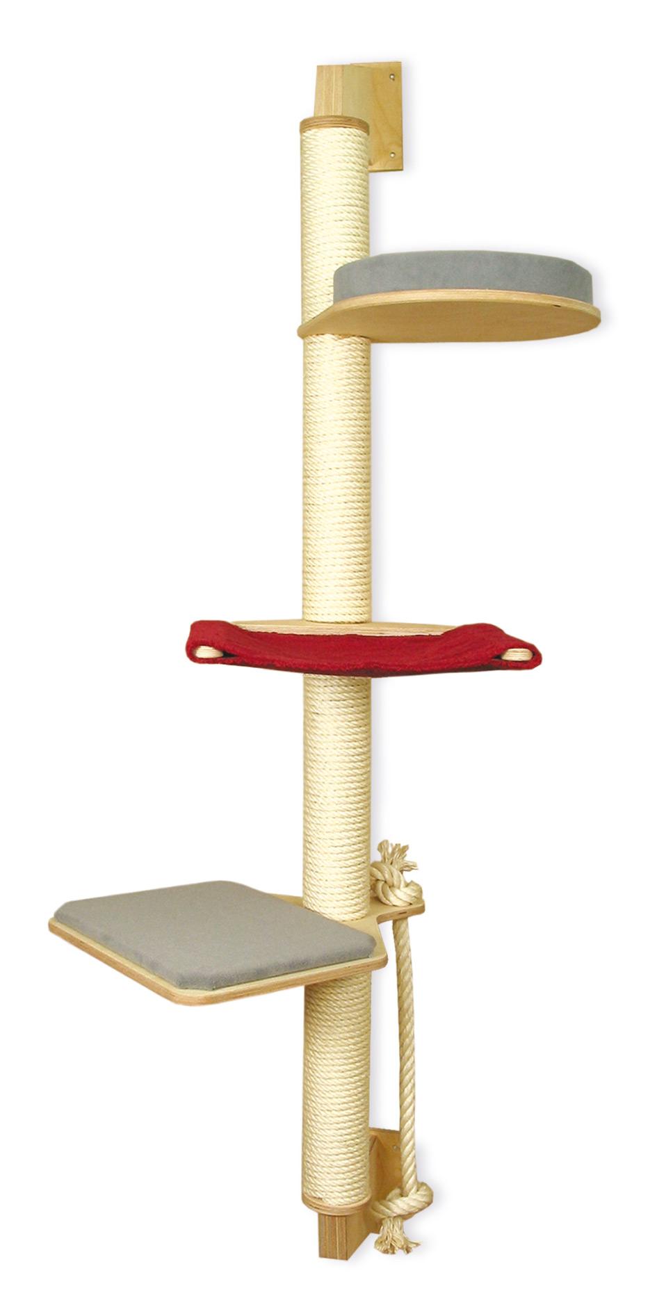 kratzbaum zur wandmontage direkt vom hersteller kaufen. Black Bedroom Furniture Sets. Home Design Ideas