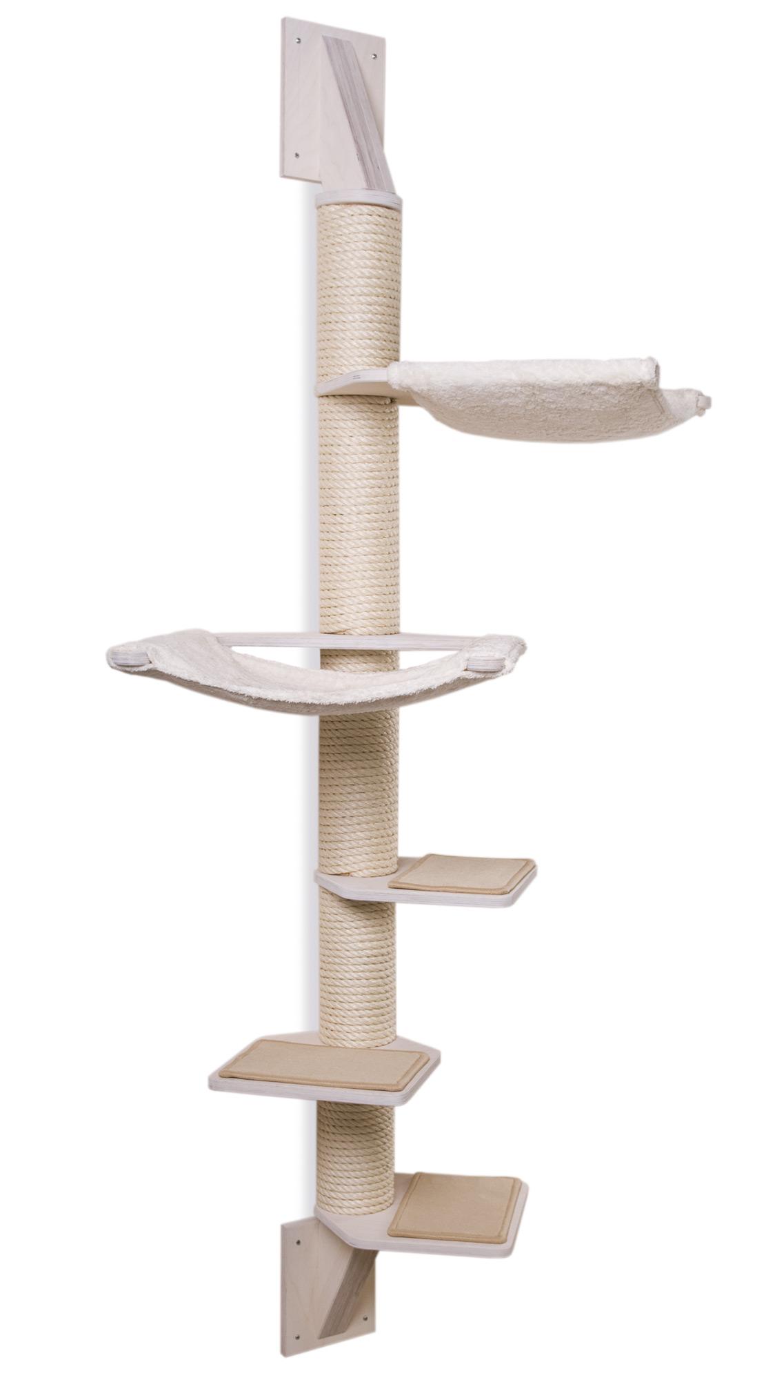 wandkratzbaum modell martha variante weiss profeline katzenshop. Black Bedroom Furniture Sets. Home Design Ideas